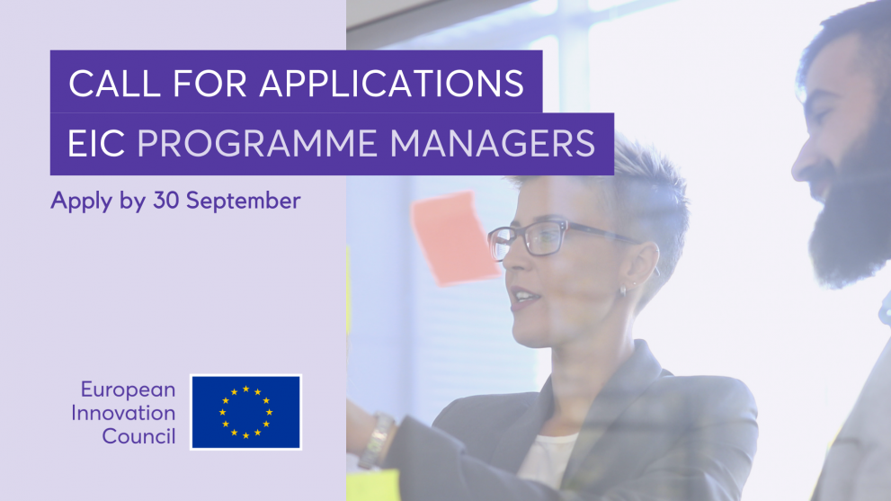 EIC programme managers
